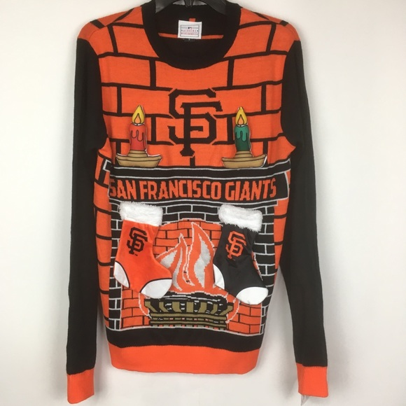 d87ddf54e9f San Francisco giants 3d ugly Christmas sweater
